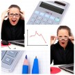 Business collage — Stock Photo #4917571