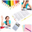 Bildung-collage — Stockfoto #4917578