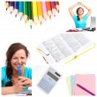 Education collage — Stock Photo #4917582