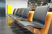Empty seat in airport — Stock Photo