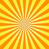 Yellow stripes background flyer — Stock Photo