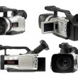 Semi professional camcorders set — Stock Photo #4067748