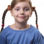 Funny girl — Stock Photo #4206861
