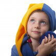 Little gnome — Stock Photo