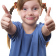 Two thumbs Up! — Stock Photo