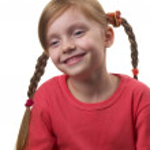 Funny girl — Stock Photo #4374335
