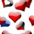 Royalty-Free Stock Photo: Seamless hearts wallpaper