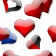 Seamless hearts wallpaper — Stock Photo #4820488