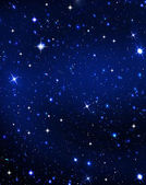 Stars in the night — Stock Photo