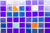 Blue tiles texture — Stock Photo
