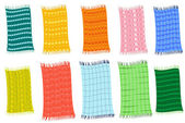 Towels — Stock Vector