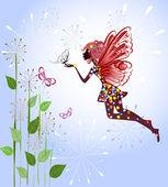Celestial Fairy — Stock Vector