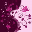 Royalty-Free Stock Vectorafbeeldingen: Floral pattern abstract background