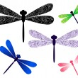 dragonfly — Stock Vector #4882192