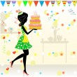 Birthday party — Stock Vector #5363260