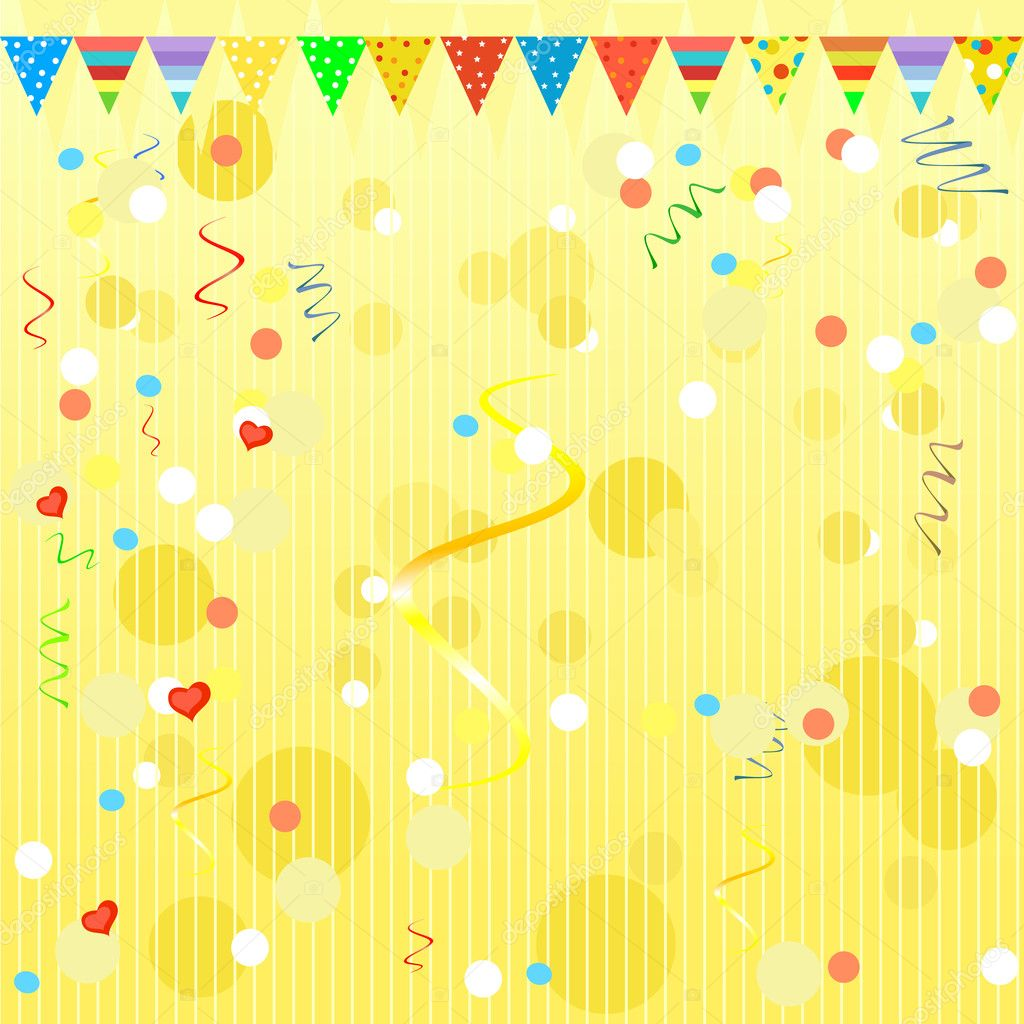 yellow party wallpaper wallpapers - photo #13