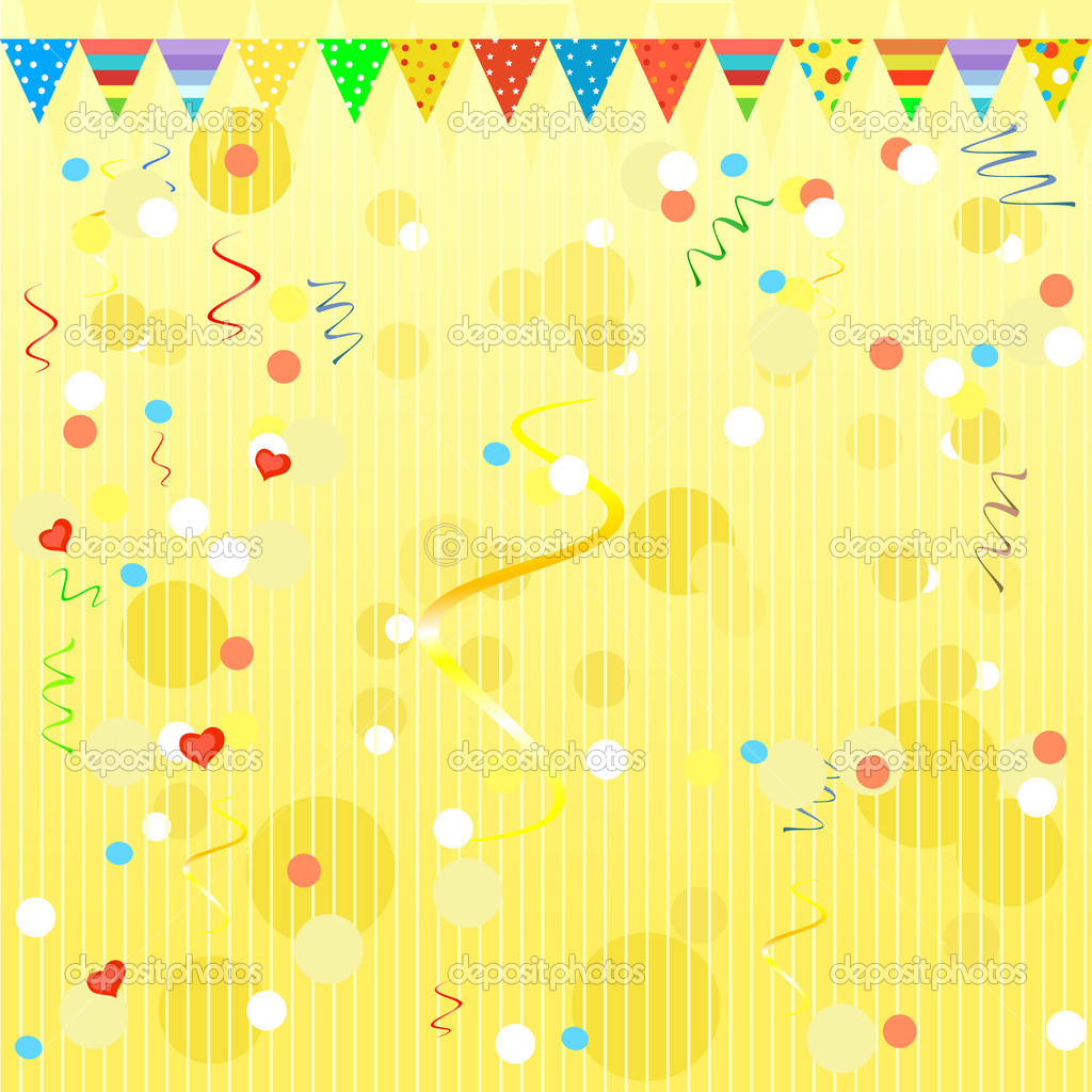 Birthday background — Stock Vector #5363255