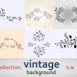 Collection vintage background — Stock Vector #4549229