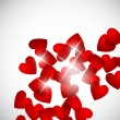 Royalty-Free Stock Imagem Vetorial: Valentine background