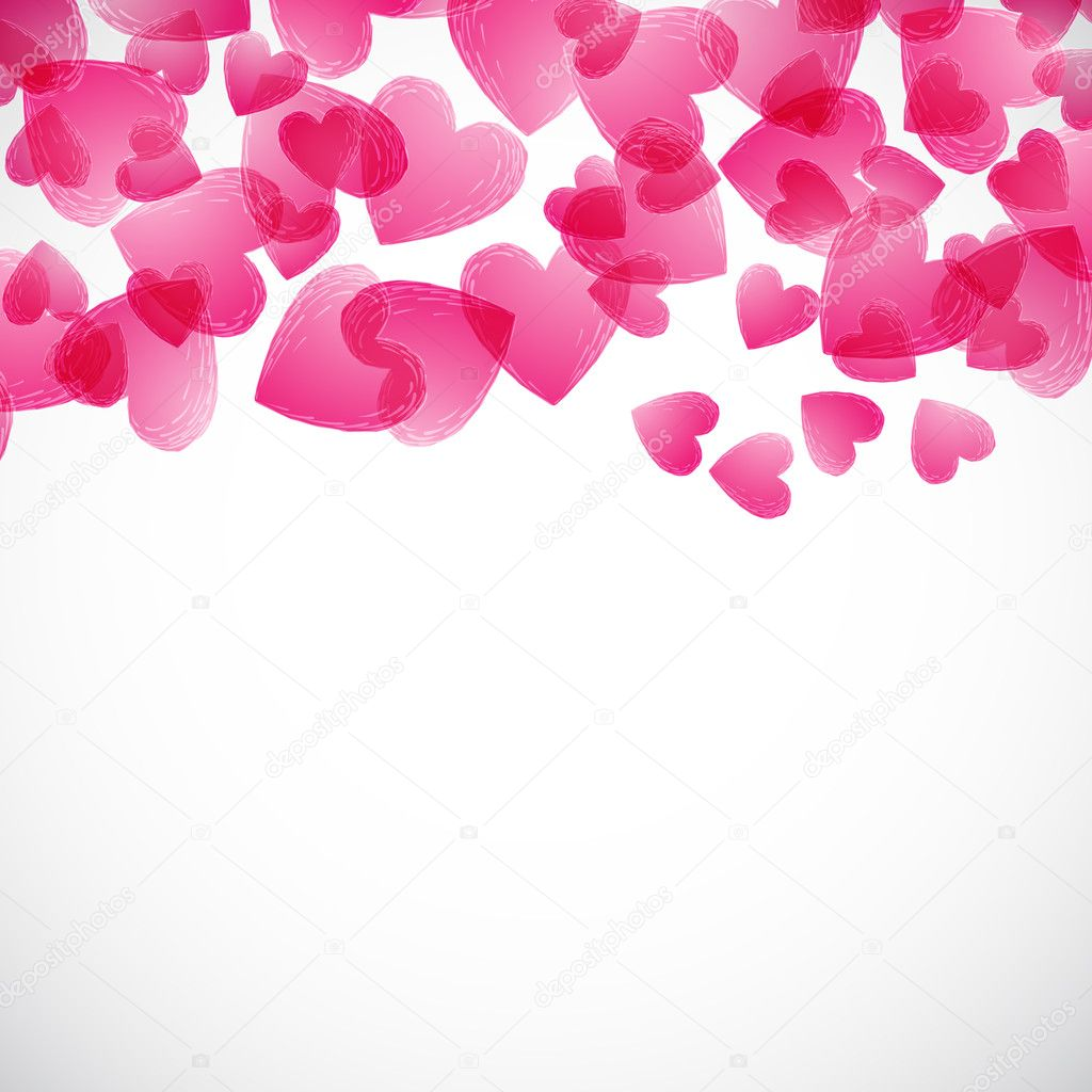 Valentine background  Stock vektor #4725182