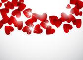 Valentine tle — Wektor stockowy