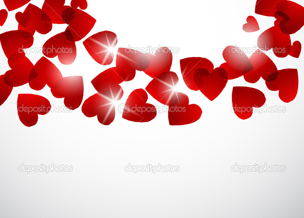 Valentine background  Image vectorielle #4753054