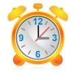 Icon alarm clock for design. — Stock Vector