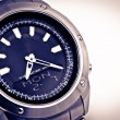 Man's watch close up photo. — Stock Photo