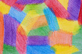 Color background drawn by pencils. — Stock Photo