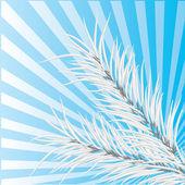 Серый филиал сосны. Векторные иллюстрации — Cтоковый вектор