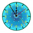 Dial of hours.Vector illustration — Stock Vector #4346452