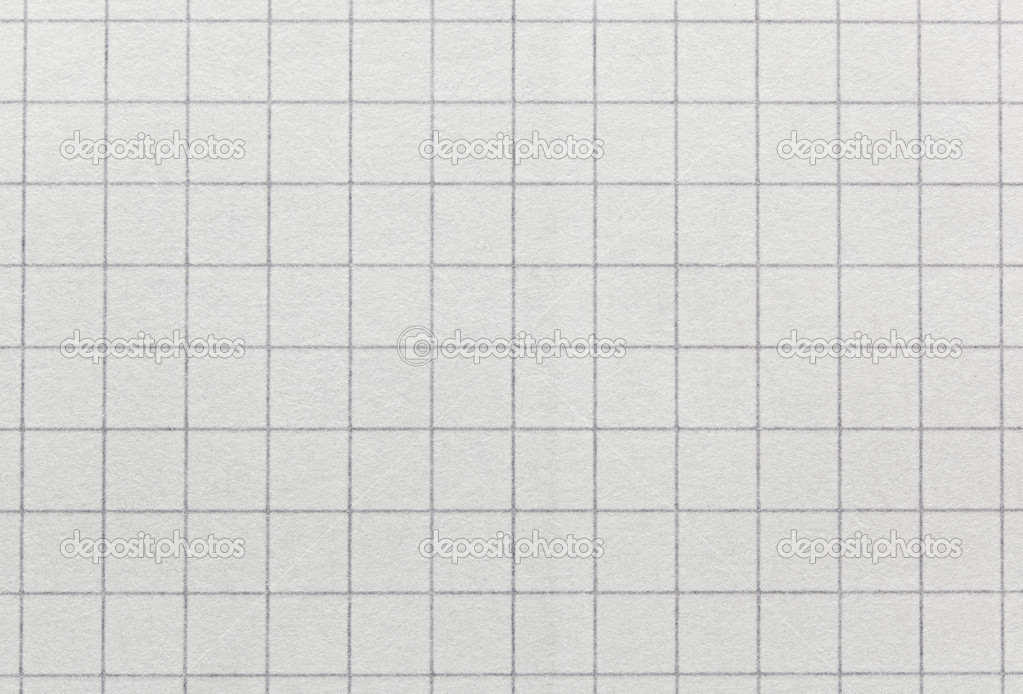 Squared paper texture background macro view — Stock Photo ...