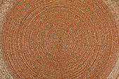 Golden beadwork texture background with round lines pattern — Stock Photo