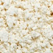 Cottage cheese (curd) top view, background — Stock Photo #4934010