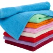 Royalty-Free Stock Photo: Towel stack