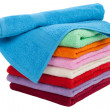Towel stack — Stock Photo