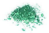 Eye shadow crushed sample — Stock Photo
