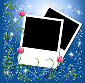 Page layout photo album — Stock Vector