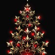 Christmas fur-tree — Vector de stock #4188578
