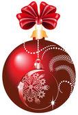 Christmas ball — Stockvektor