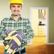 Handyman at work — Stock Photo