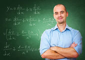 Confident teacher — Stock Photo