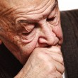 Sleeping old man — Stock Photo #4102541