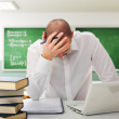 Stressed student — Stock Photo #4163504
