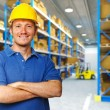 Labor in warehouse — Stock Photo
