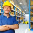 Stock Photo: Labor in warehouse