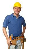 Confident handyman portrait — Stock Photo
