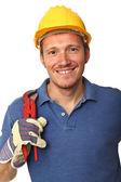 Portrait of handyman — 图库照片