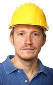 Portrait of manual worker — Stock Photo