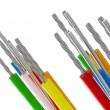 Cable background - Stock Photo